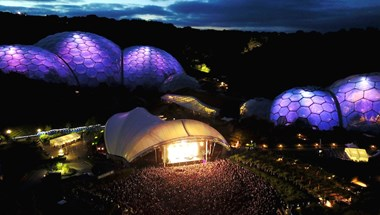 We're the official energy partner of Eden Projects spectacular summer gig series