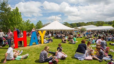 My panel at this year's Hay Festival
