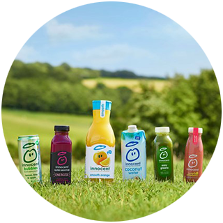 Innocent Drinks powered by 100% Renewable Good Energy