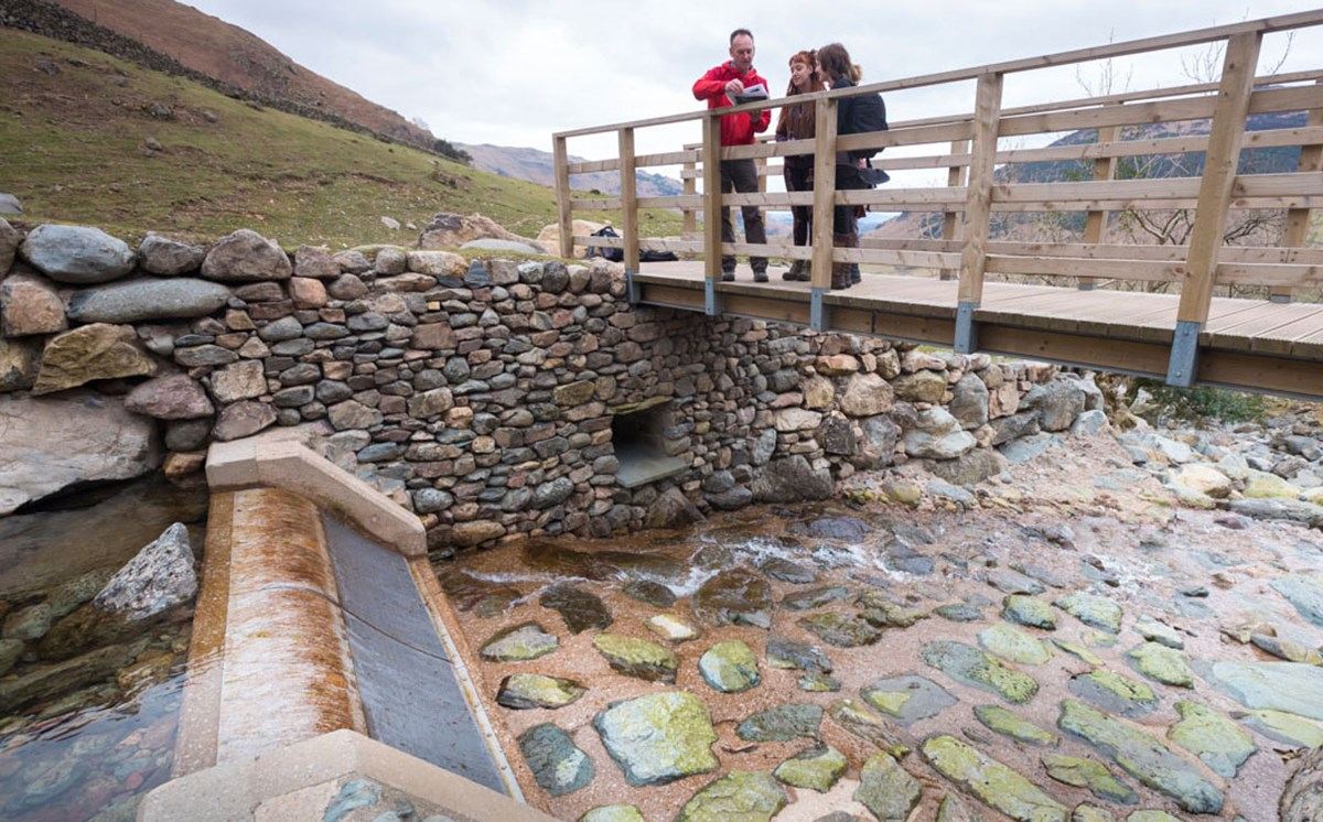 Hydro project with the National Trust