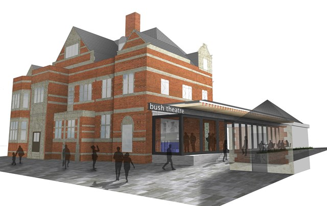 Bush Theatre Artist Impression