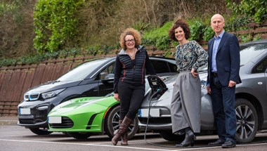 We are investing in the electric vehicle charge point app, as part of our move towards a localised power future
