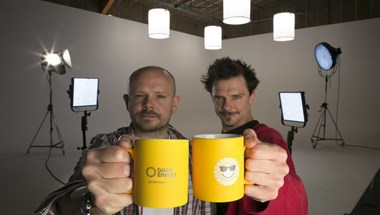 Bristol-based brothers Tom and Peter Martin have built their very own film studio in the city, and it's not just their screen that's green: every light, camera and kettle is powered by Good Energy.