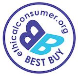 Ethical consumer best buy logo