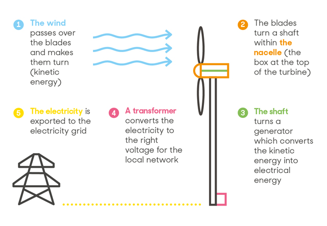 How we generate electricity at home