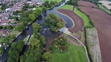 The Pershore Weir Hydro is an award-winning project