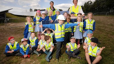 What do a lollipop lady, some run down toilets and a flock of chickens have in common? Answer: A little 'Good Energy'!