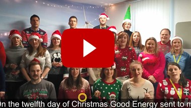 We're in the mood to sing about all the things that make Good Energy good!