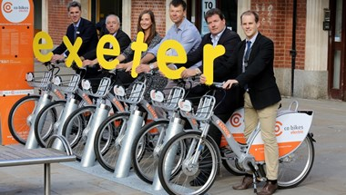 You might have heard of Boris bikes. What if we told you that Exeter has a renewably-powered version?