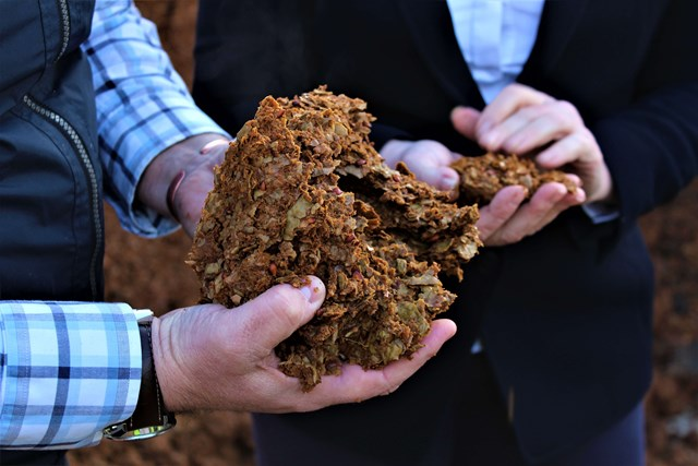 apple pomace used for biofuel