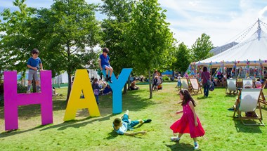 For the first time, Hay Festival is powered by 100% renewables
